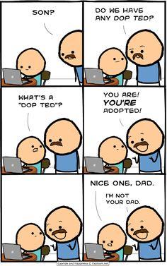 Like a dad joke, but not...