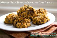 Almond Flour, #GlutenFree, #Paleo-Friendly Pumpkin Cookies