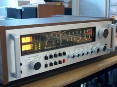 Mac 4100 Receiver. 1979 - 85. $2,000 at that time.