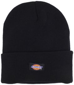 c4cdf962544 Men s 14 Inch Cuffed Knit Beanie Hat - Black - CC114BTVSL3