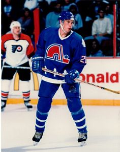 Peter Forsberg   Quebec Nordiques   NHL   Hockey