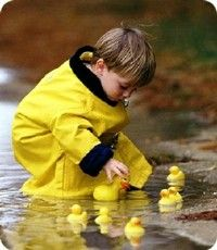 Little yellow ducky, ducky, ducky... This is too cute ...