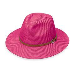 b6a530270db62 Wallaroo Hat Naples Fedora Hot Pink Golf Apparel