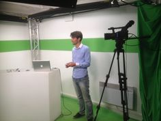 """Photo du plateau de DecideurTV où Shoette était interviewé en Septembre 2013 pour l'émission """"START UP"""" sur le thème de la levée de fonds"""