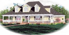 Country House Plan 46532