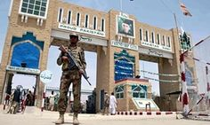 Pakistan security official stands guard at the border with Afghanistan in Chaman, Balochistan province--Province is the hardest place in the country for human rights workers, diplomats and journalists to operate, as the Guardian discovered on a visit to the region - See more at: http://the-best-of-media.blogspot.in/2016/02/balochistan-pakistans-information-black.html#more