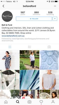 Ford Clothing, Byron Bay, Silk, Cotton, Clothes, Shopping, Outfits, Clothing, Kleding