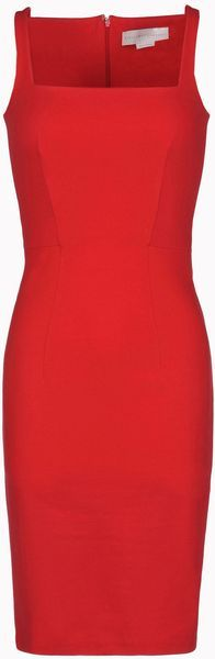 Stella Mccartney England Compact Jersey Strappy Dress - Lyst