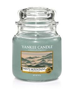 Yankee Candle Classic Misty Mountain (536-1577812E) Bougie Yankee Candle, Yankee Candle Scents, Yankee Candles, Soy Candles, Scented Candles, Candle Jars, Jewel Candle, Thirty One Party, Patriotic Party