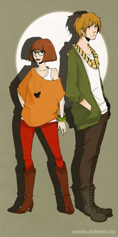 velma and shaggy ... is it bad that i want both of these outfits?