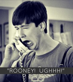Cameron Impersonating Sloan's Father While On The Phone With Mr. Rooney - Ferris Bueller's Day Off - www.scottystees.com