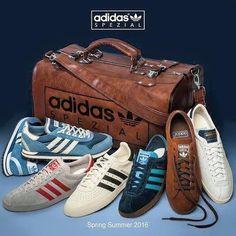 Restock of Adidas Originals SS16 Spezial collection.
