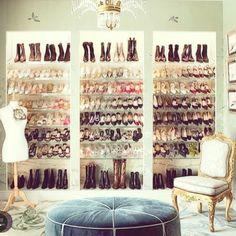 Closet goals! #glamzam #london #shoecloset #shoes #party #nightout #ootd #fashion #tuesdayshoesday #tuesday #like4like #shoeheaven