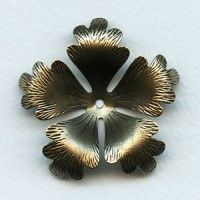 Buy Metal Leaves for Jewelry Making - VintageJewelrySupplies.com