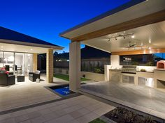 Australia's leading Patio & Pergola with 'Comfort and Style'. For all your patio design needs speak to one of our SolarSpan patio builders or dealers. Outdoor Areas, Outdoor Rooms, Outdoor Living, Outdoor Decor, Outdoor Kitchens, Patio Roof, Pergola Patio, Backyard, Pergola Kits