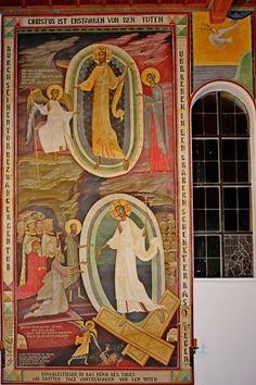 Grigore Popescu - Pictura murala, icoane, pictura sevalet, restaurare Like Icon, Byzantine Art, Sacred Art, Christian, Artwork, Painting, Icons, Work Of Art, Auguste Rodin Artwork