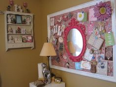 Cute ideas for vision boards. This can be a great project to do with your daughters too.