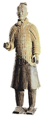 The Ch'in Emperor's Terracotta Warriors - Standing Soldier china