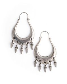 Arrowhead Earrings - JewelMint