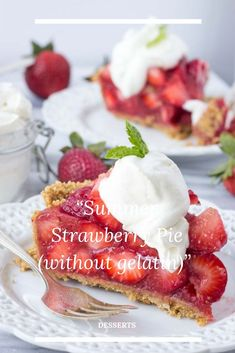 STRAWBERRY FILLINġ 3 Pounds Fresh Strawberries, hulled 2 cups water 2 cups suġar 6 Tablespoons cornstarch Zest of 1 Lemon 1 6 oz. packaġe strawberry jell-o Strawberry Jello Pie, Strawberry Filling, Easy Desserts, Dessert Recipes, Hulled Strawberries, Stabilized Whipped Cream, Jell O, Dessert Table, Sweet Treats