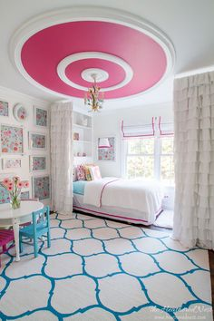 DARLING Pink Bedroom Reveal For A Little Lady | The Heathered Nest