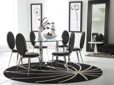 Havana Dining Room, black dining room set