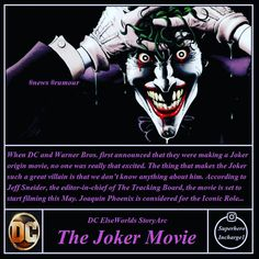 Phoenix is in talks with Warner Bros. For joker role in joker standalone movie under DC's yet-to-be announce banner...This will be interesting as DC mythology won't get clash with continuity movies which will allow studio to expand more storylines in DCfilms...Now this is master plan which is way bigger than marvel could ever imagine only if that will succeed.... @superhero_incharge1 #thejoker #joaqinphoenix #dcfilms #dccomics #elseworlds #dccannon #dceu #justiceleague #shazammovie…
