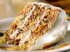 Best Ever Carrot Cake with Buttermilk Glaze #Dessert #Cake anytime #justapinchrecipes