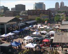 City Market Kansas City. A fun farmers market that goes on year round.