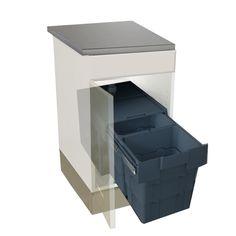 Une poubelle coulissante encastrable en kit, idéale pour votre meuble sous évier, 89.90€
