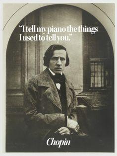 """I tell my piano..."" - Chopin [900x1200]"