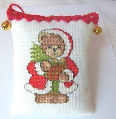 Tree Christmas Decoration Ornaments by CrossStitchElizabeth