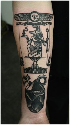 Egyptian Tattoo Designs for Men and Women (7)