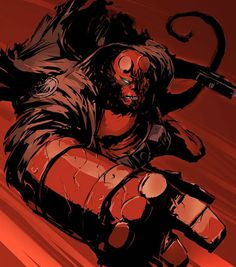 Comic Character Inspiration: Hellboy