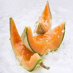 Tip: Blend cantaloupe with yogurt and freeze it into sherbet, or puree it with orange juice and mint to make a refreshing soup. | health.com