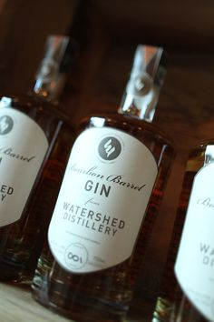 Watershed releasing Bourbon Barrel Gin article on Drink Up Columbus
