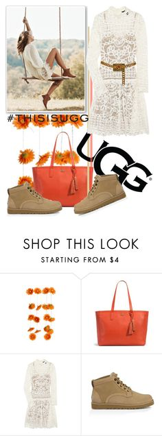"""Play With Prints In UGG: Contest Entry"" by iraavalon on Polyvore featuring UGG Australia, Marc by Marc Jacobs, Chanel and thisisugg"