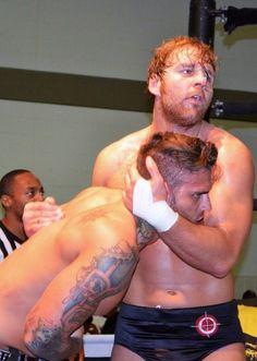 Cory Graves and Dean Ambrose