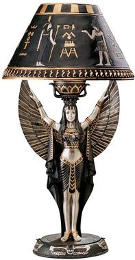 Isis Egyptian Sculptural Table Lamp