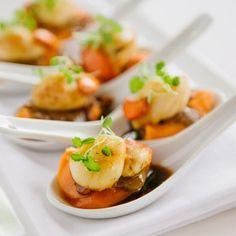 Hungry for some Tassie scallops? #seafood #scallops #tasmania ##restaurantaustralia #discovertasmania Image Credit: salisbury_hallam