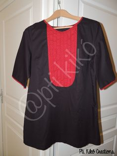"""Tunic made from the book """"Tuniques pour petits et grands""""  www.ptikikocreations.blogspot.com"""