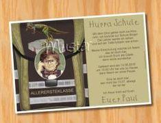 Ausgefallene Danksagungskarten Einschulung Schulanfang 110 Bild