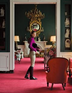 Equestrian Chic in Luxurious Greenbrier Hotel Equestrian Decor, Equestrian Style, Equestrian Fashion, Equestrian Girls, Cowgirl Fashion, Estilo Ivy, Le Polo, English Style, French Style
