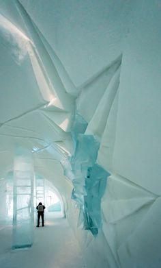 Ice Hotel, Jukkasjärvi by Mick Yates, via Behance