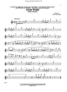 Star Wars flute music