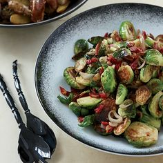 Scott Conant: Crisping Pancetta  Plus: F&W's Vegetables Cooking Guide     More Brussels Sprouts Recipes   ...