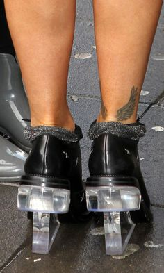Rita Ora Ankle Wings