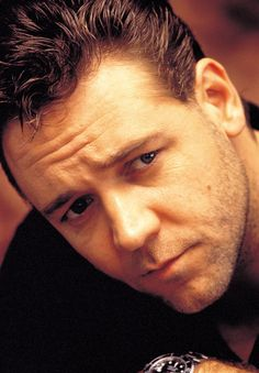 Russell Crowe - regardless of his reputation! I love him! Amazing actor and he was just recently baptized. I love you!