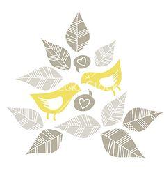 Pastel bird print patterns vector by demoniquedraws on VectorStock®