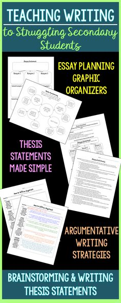 creating a thesis statement machine